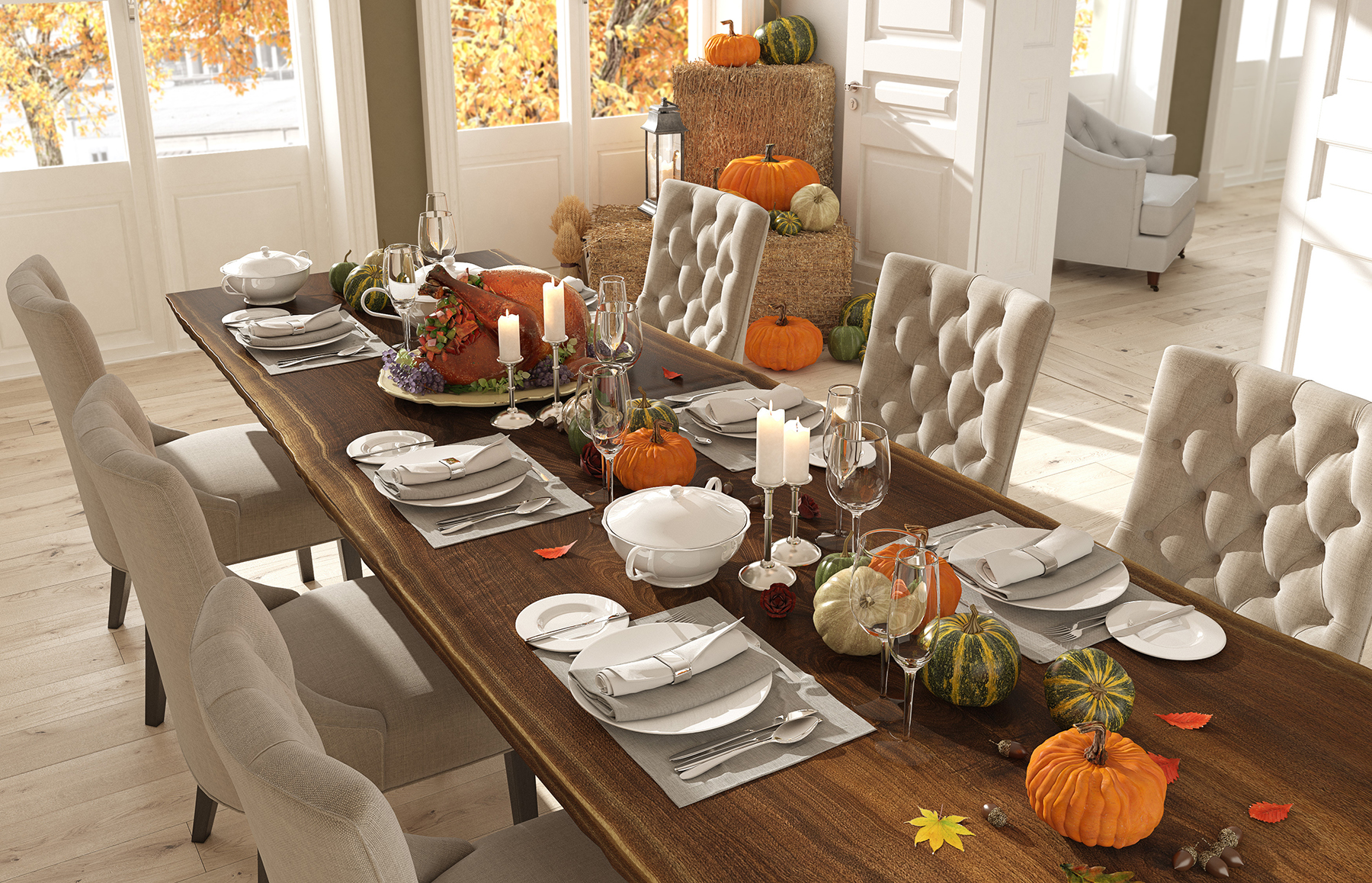 10 Thanksgiving decorations for your home